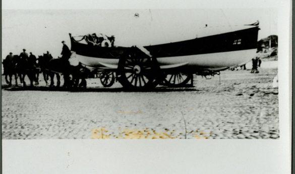 Photograph of Holy Island lifeboat Edward & Eliza