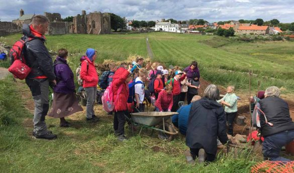Archaeological Excavations on Lindisfarne Heugh
