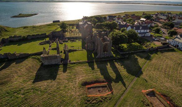 Dig Ventures on Lindisfarne