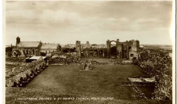 "Postcard ""Lindisfarne Priory & St Mary's Church"""