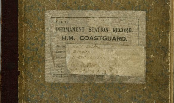 Holy Island Coastguard Station Record Books