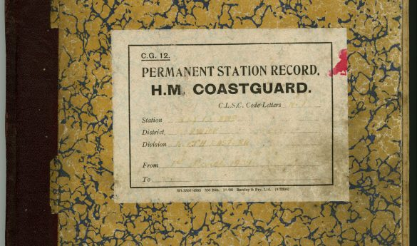 Permanent Station Record H.M. Coastguard Holy Island.  Volume 2