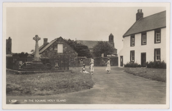 In the Square, Holy Island
