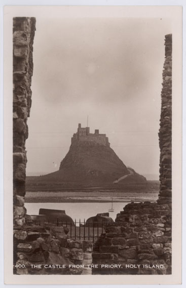 The Castle from the Priory, Holy Island