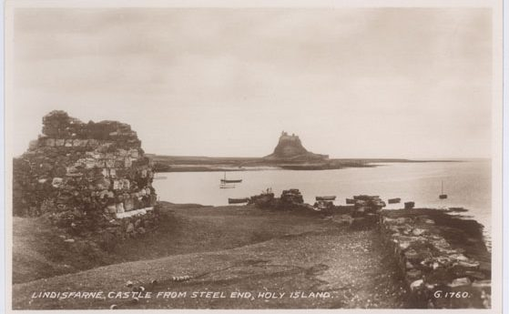 Lindisfarne Castle from Steel End, Holy Island